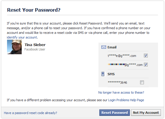 My Friends Told Me About You / Guide how to reset password on
